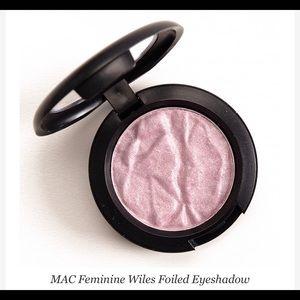 MAC Feminine Wiles Foiled Eyeshadow